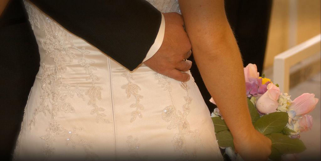 Beispiel: Brautpaar, Foto: Brenneralm.