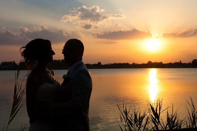 Wedding al tramonto