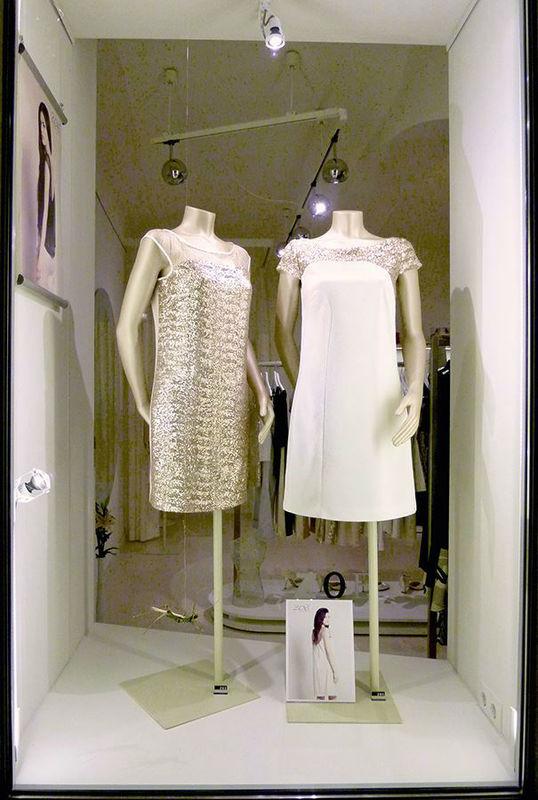 Beispiel: Wunderschöne Festmode, Foto: ZOE-Modedesign.
