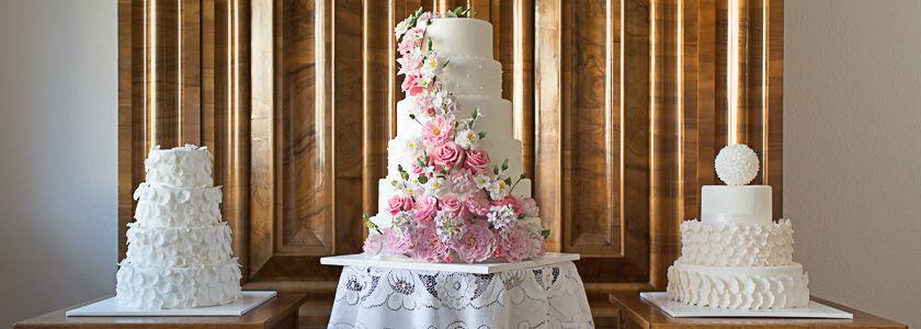 Wunderschöne Hochzeitstorten, Foto: Brugger's My Wedding Cake.