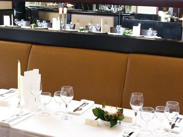 Beispiel: Tischdekoration, Foto: Telegraph - Café & Restaurant.