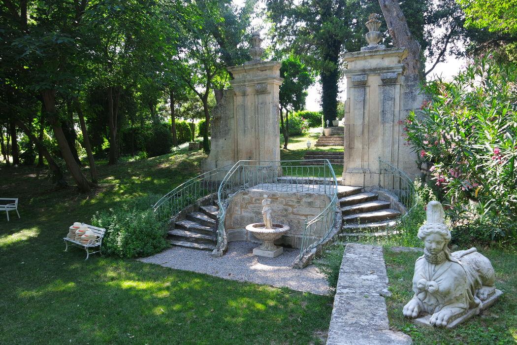 Le portique du 19 ème siècle