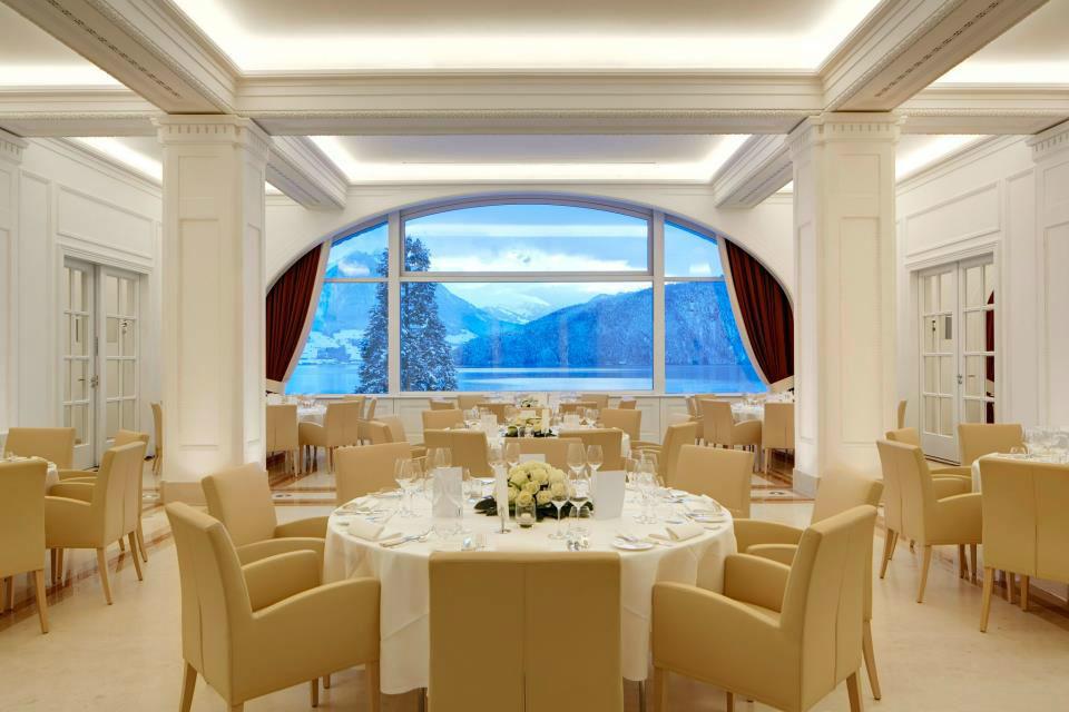 Beispiel: Ihr Hochzeitsbankett, Foto: Park Hotel Vitznau.