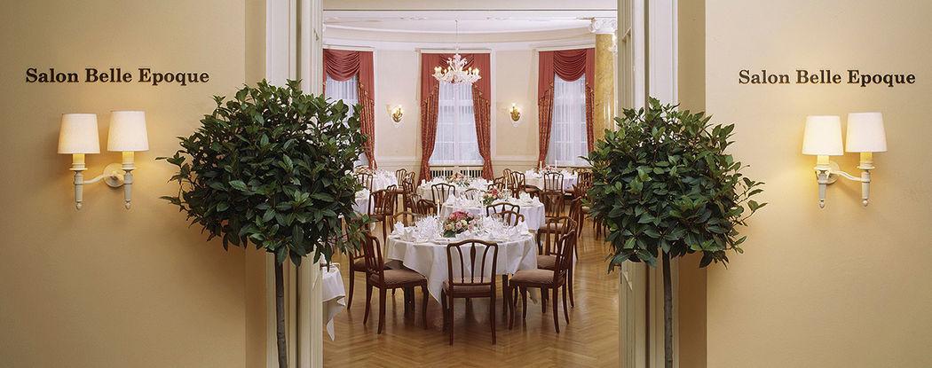 Beispiel: Festsaal, Foto: Hotel Bad Schachen.