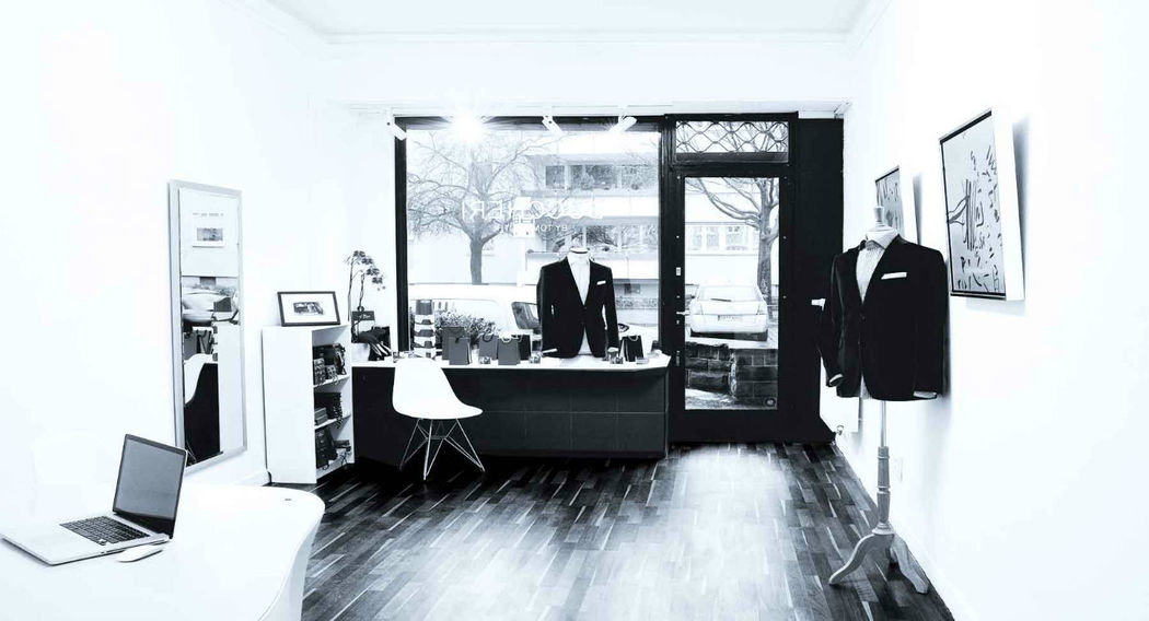 Beispiel: Showroom in Frankfurt, Foto: Buccheri.