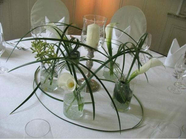 Beispiel: Blumen für den Hochzeitstisch, Foto: Blatt+Form.