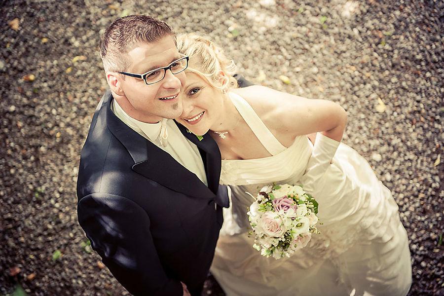 Portrait des Hochzeitspaares, Foto: Alexander Volmar.