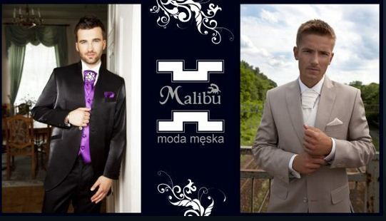 Moda ślubna dla Panów - Malibu