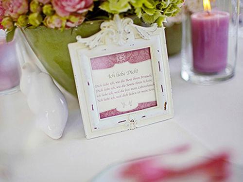 Beispiel: Liebevolle Details, Foto: Annika Wietzorke - Hochzeitsplanung & Eventdesign.