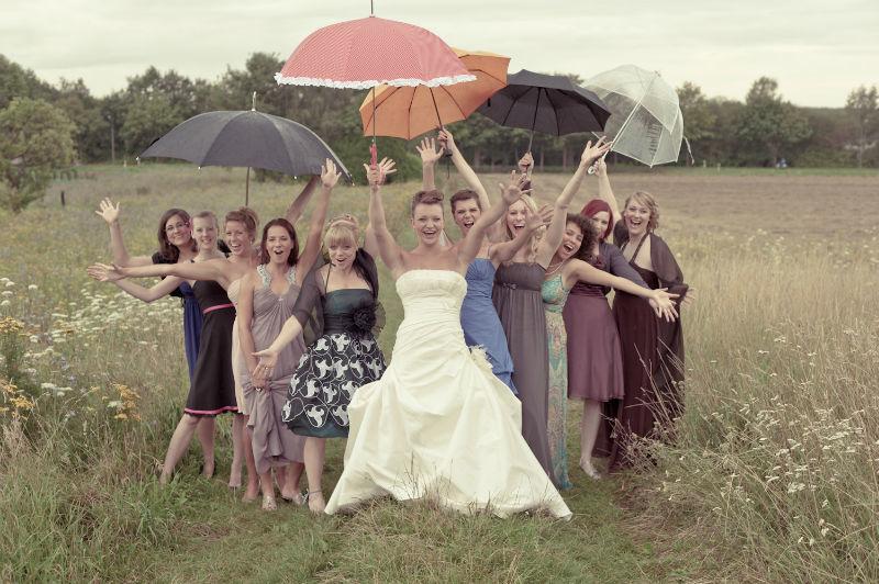 Beispiel: Lustige Gruppenbilder, Foto: Patrick Ludolph.