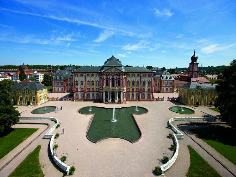 Beispiel: Außenansicht, Foto: Schloss Bruchsaal.