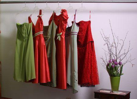 Beispiel: Abendmode, Foto: Orangejus Couture.