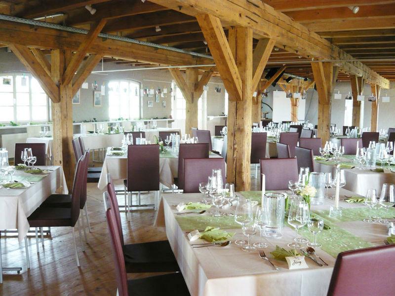 Beispiel: Hochzeitsbankett, Beispiel: Küstenmühle Rostock.