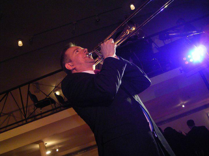 Beispiel: Trompetensolo, Foto: Tom Browne Band.