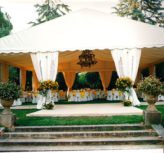 CBE Catering, decoración