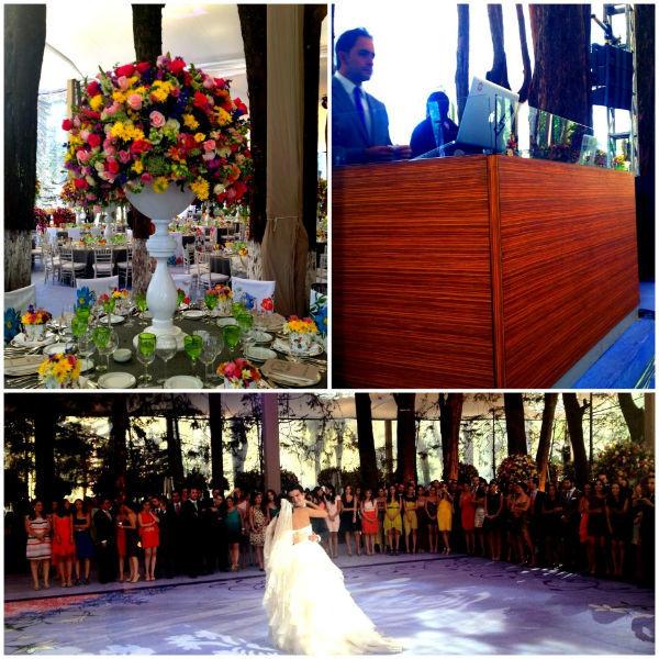 Ambientación y personalidad en luz y sonido para cada tipo de boda - Foto César Álvarez Eventos