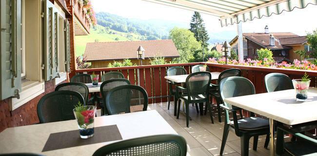 Beispiel: Terrasse, Foto: Landgasthof Grossteil.