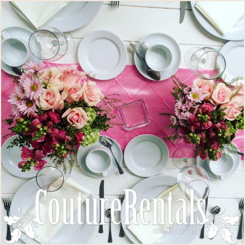 Nuestras mesas y diseño floral
