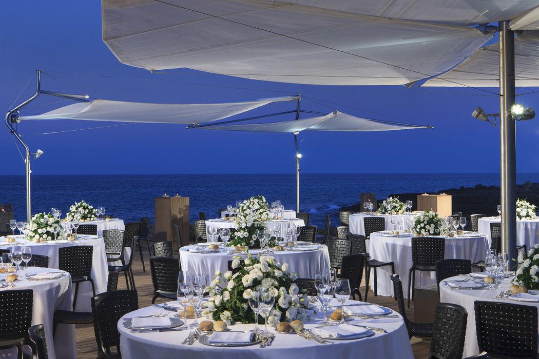 cena a bordo mare