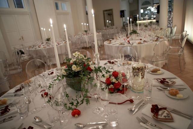 Beispiel: Hochzeitsgedeck, Foto: Lux & Lauris.
