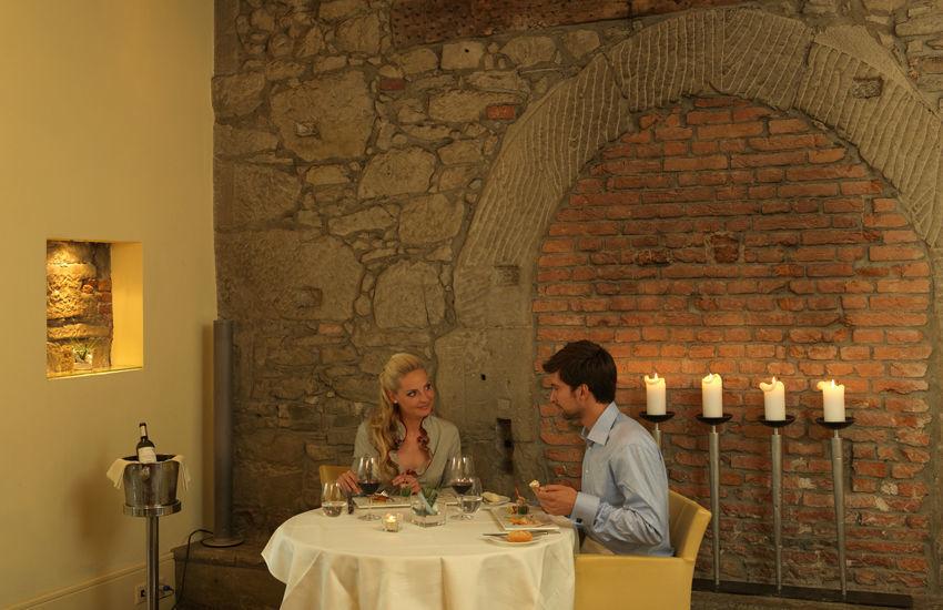 Beispiel: Restaurant, Foto: Hotel des Balances.
