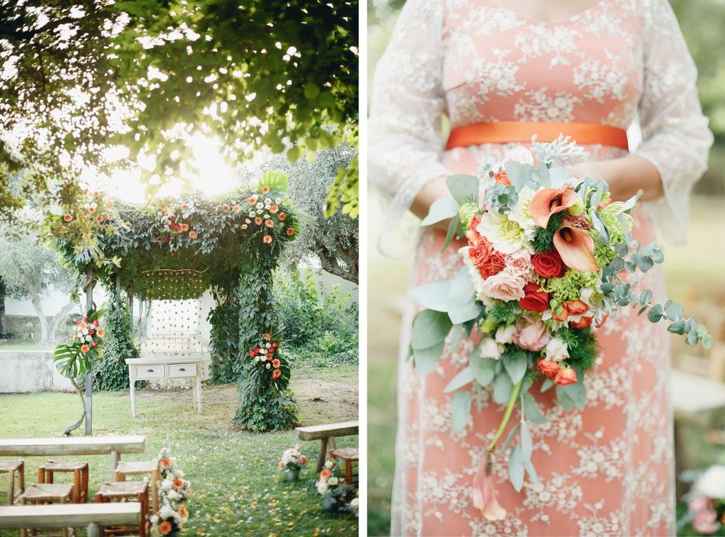 Design floral | Flor de Laranjeira  Foto | Look imaginary Wedding Concept | Como Branco