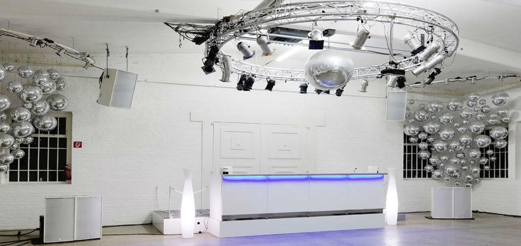 Beispiel: Besondere Lichttechnik, Foto: Nordlicht Events.