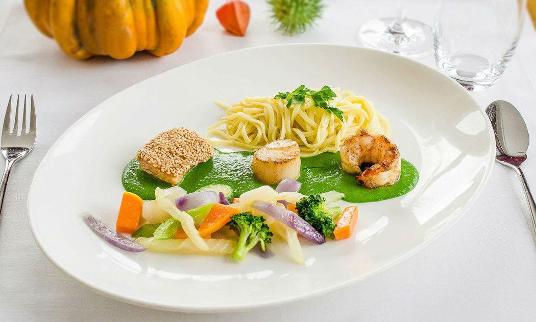 Beispiel: Speisen, Foto: Restaurant Goldenberg.