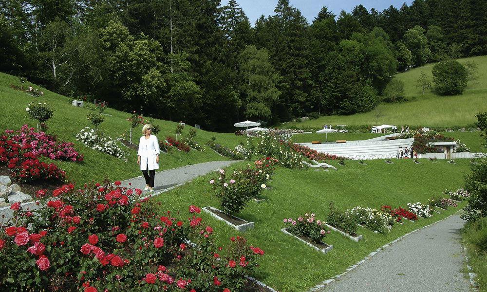 Beispiel: Hotelpark, Foto: Dollenberg Schwarzwald Resort.