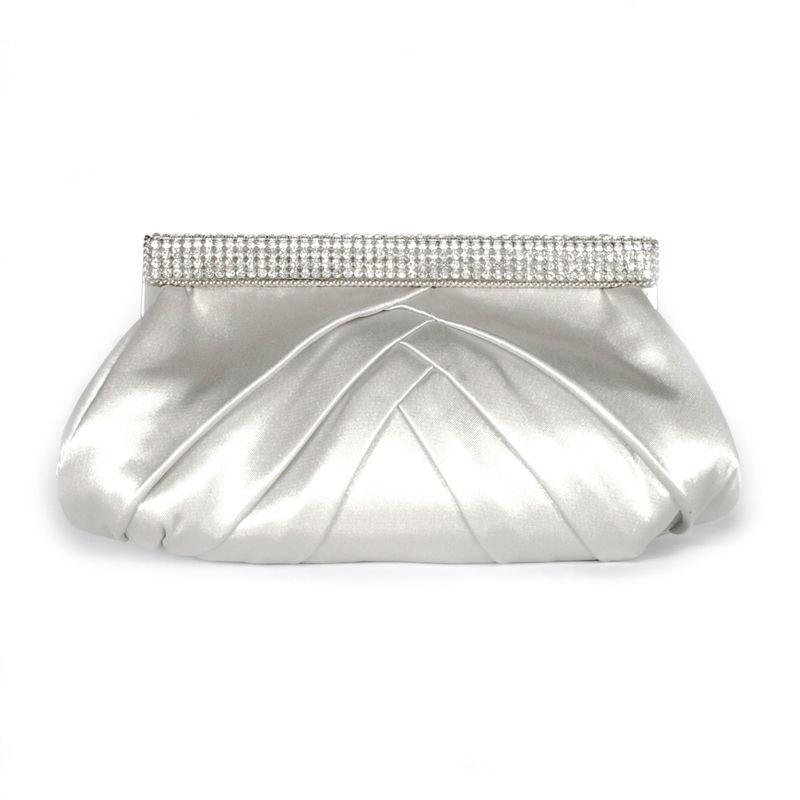 Arya Italian Jewels - Accessori Sposa e Matrimonio - Pochette in raso con strass Swarovski