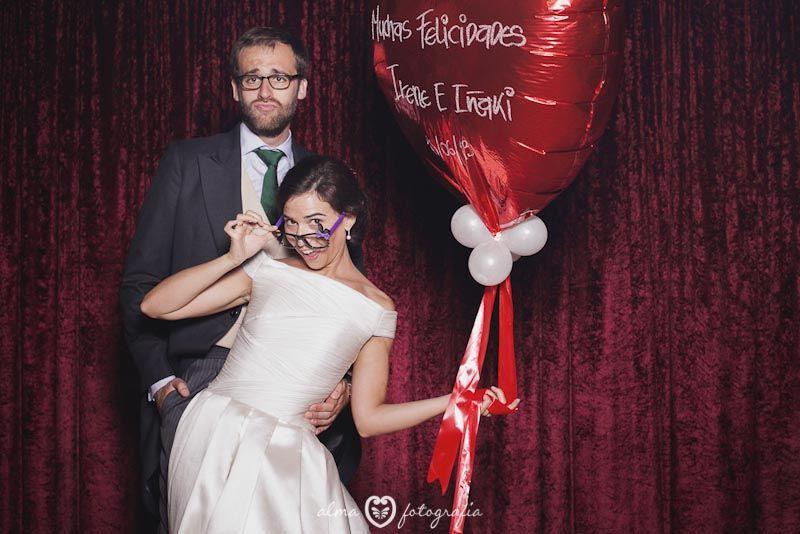 Boda Irene & Iñaki, Alma Fotografía Photocall de boda