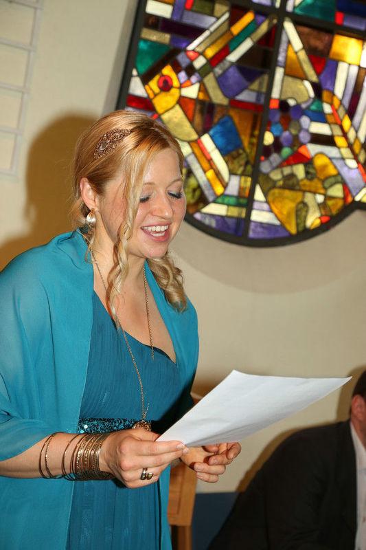 Beispiel: Auftritt Hochzeit, Foto: Melanie Dotzler