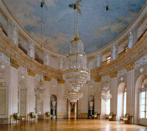 Beispiel: Marmorsaal, Foto: Schloss Ludwigsburg.