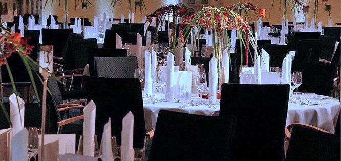 Beispiel: Tischdekoration, Foto: Blumenfee Dresden.