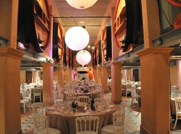 Salle de mariage du domaine Bunan