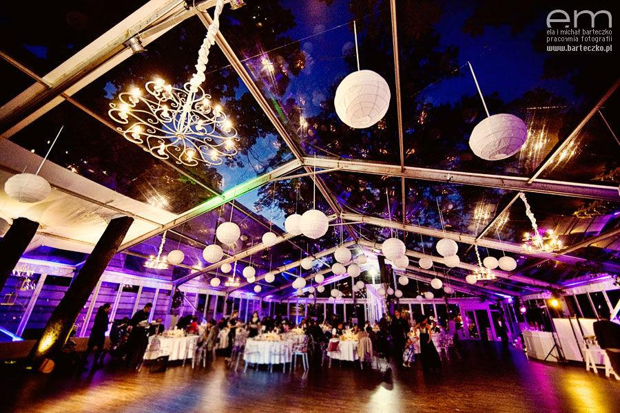 wesele w plenerze - centrum stolicy