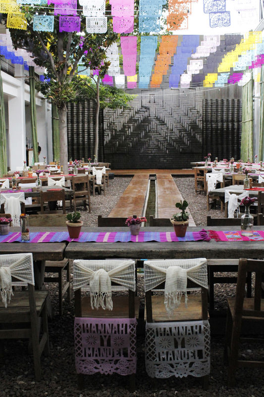 Hotel Azul + Galería, Oaxaca. ::BODA Hanna&Manuel::