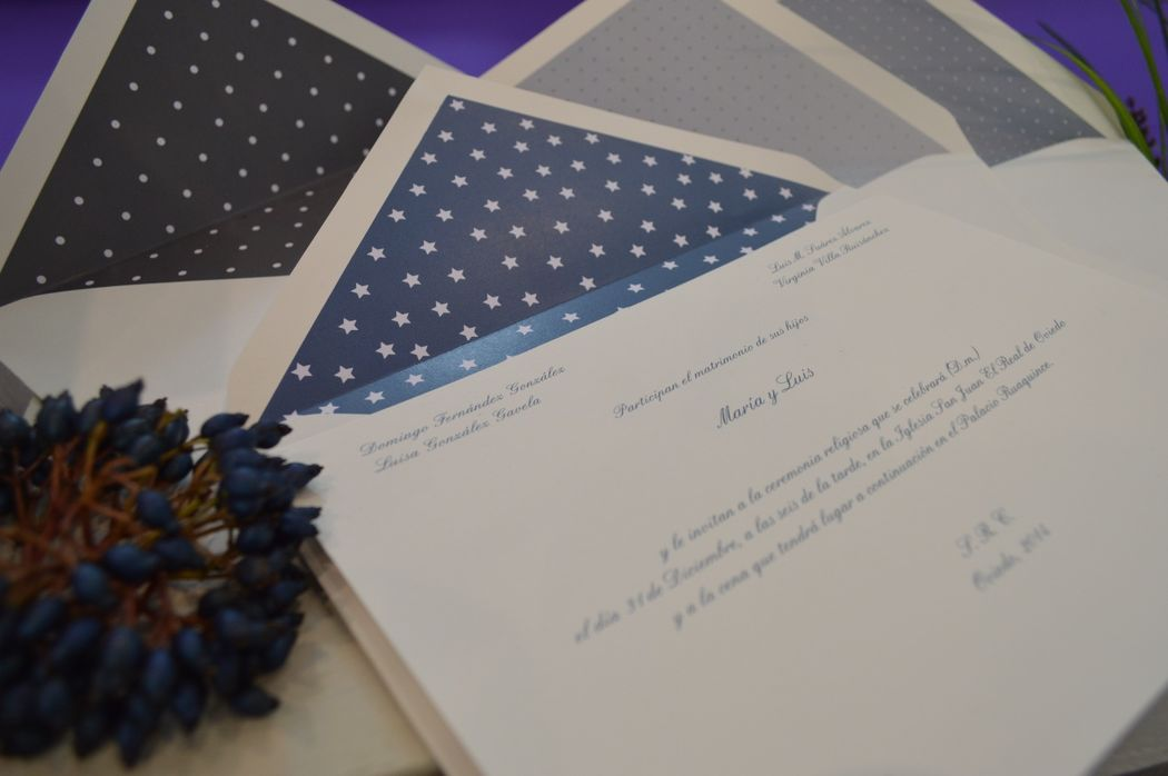 Invitación estrellas