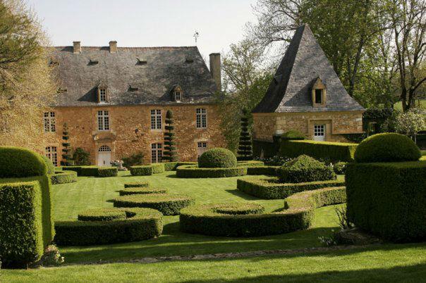 Le Manoir et le Jardin français Copyright Eric Sander