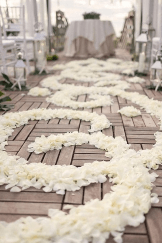 Beispiel: Organisation Ihrer Trauung und Hochzeitsdekoration, Foto: The Princess.