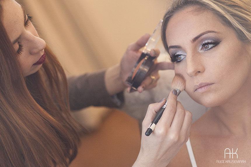 Maquiagem Casamento Rio de Janeiro Manu Guerra Makeup Foto: Alex Krusemark