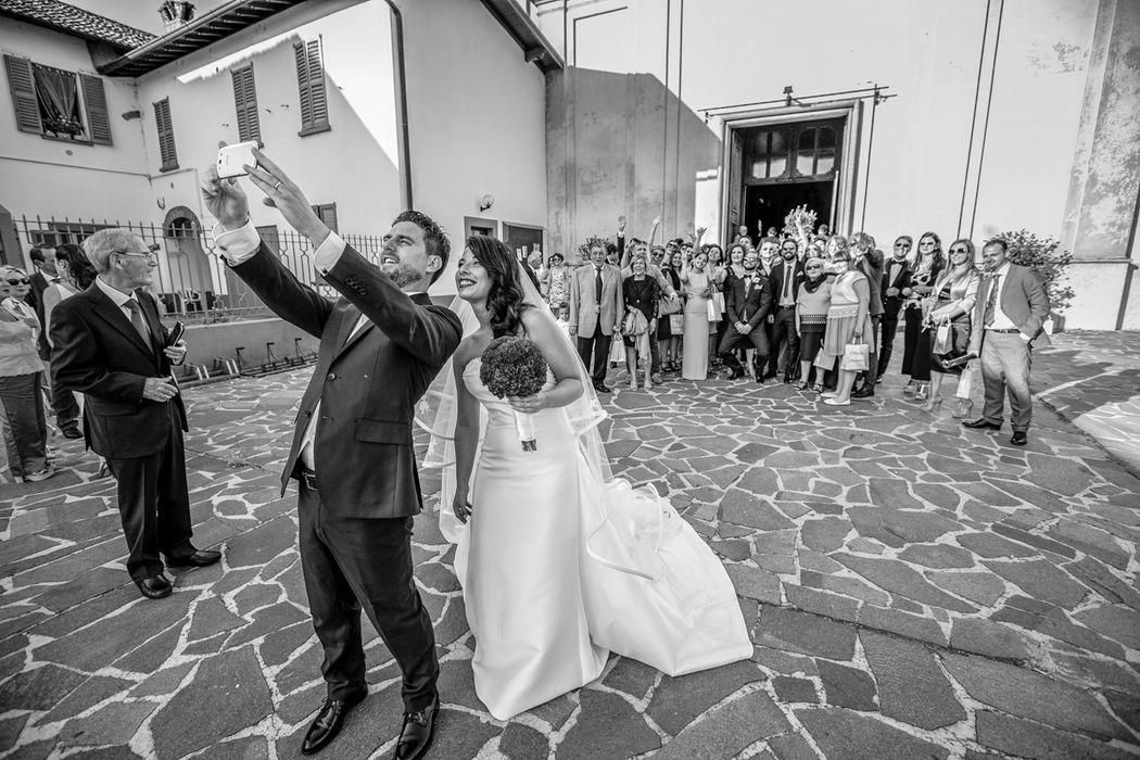 Moreno Belloni l'immancabile selfie