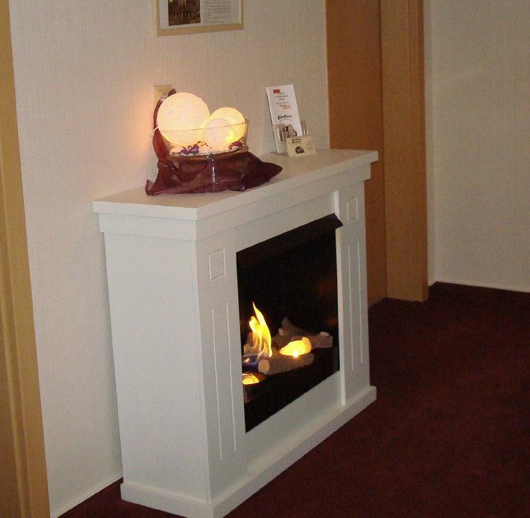 Beispiel: Kamin, Foto: Hotel Nordlicht.