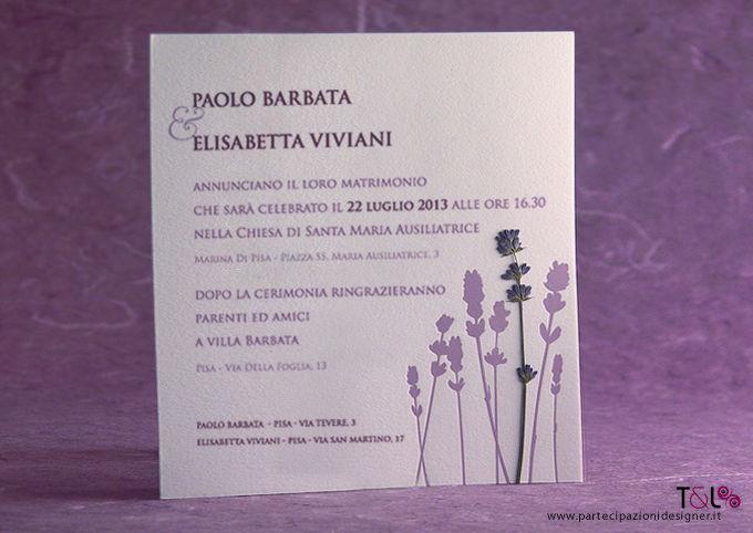 Lavender  - Partecipazione Thelma & Louise Wedding Invitations