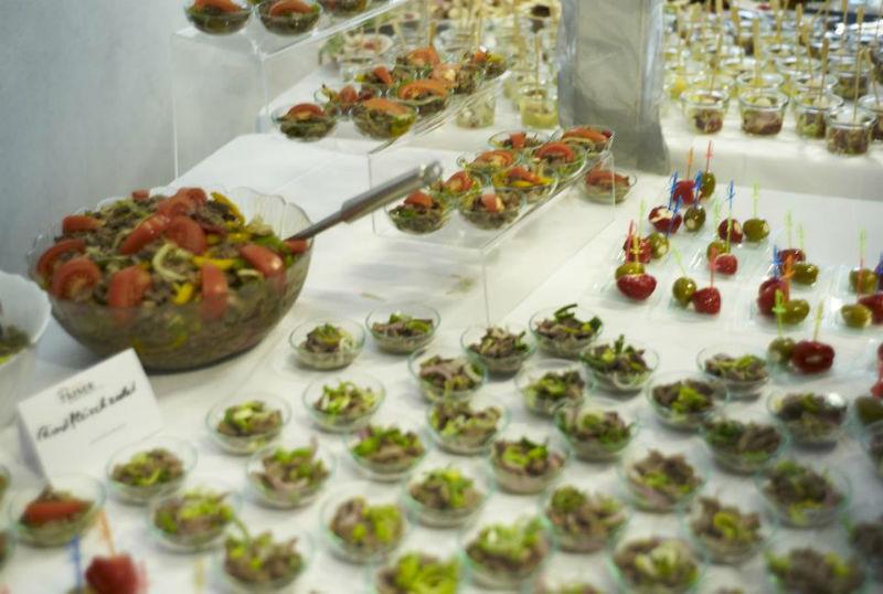 Beispiel: Leckeres Allerlei für Ihre Veranstaltung, Foto: Paiser Catering.
