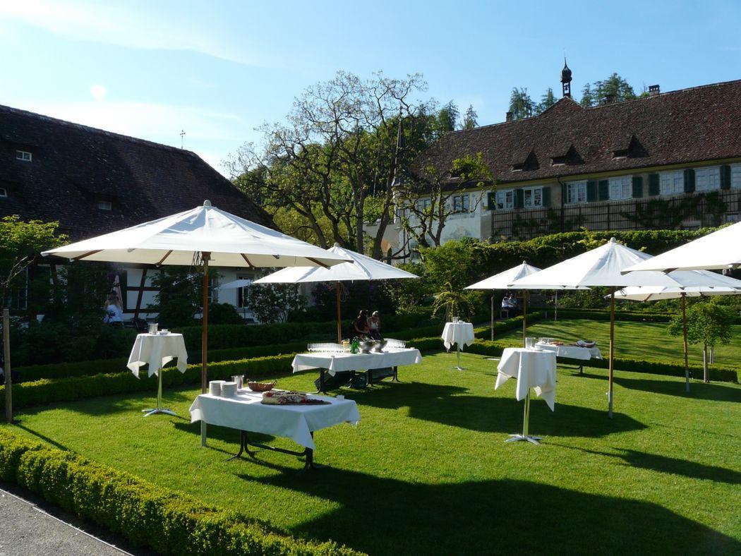 Beispiel: Garten, Foto: Kartause Ittingen.