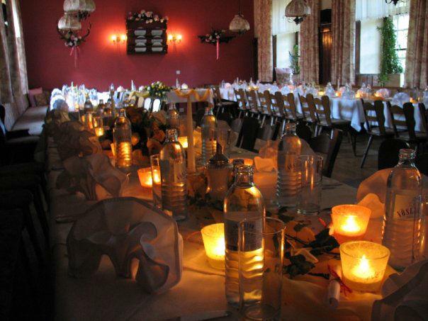 Beispiel: Hochzeitsfeier bei Kerzenlicht, Foto: Restaurant Schottenhof.