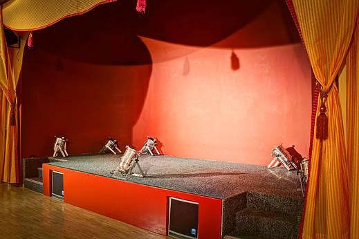 Beispiel: Kleine Bühne, Foto: Mietwirtschaft Zur Eule.