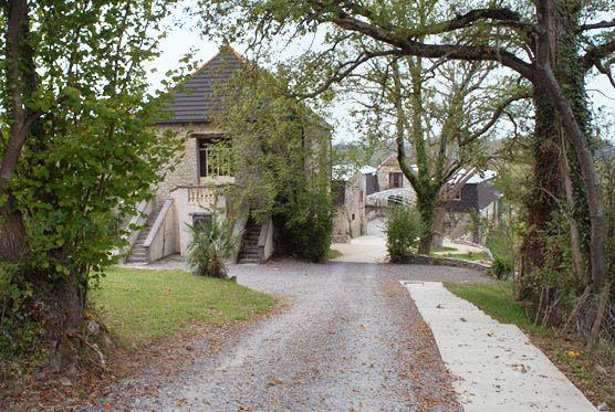 Domaine de Lucain - le parc