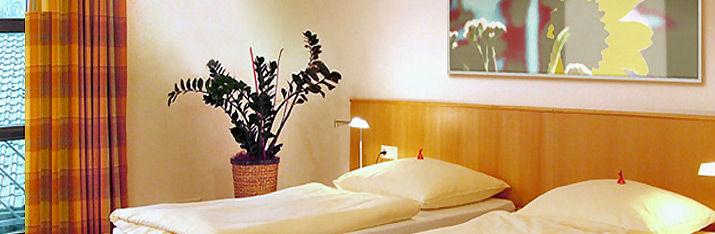 Beispiel: Hotelzimmer, Foto: Hohenwart Forum.